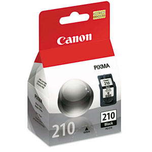 Черный картридж Canon PG-210 для принтера Canon Pixma MP250