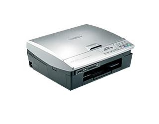 Цветное струйное мфу (принтер/сканер/копир) Brother DCP-115C
