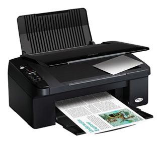 Цветное струйное мфу (принтер/сканер/копир) Epson Stylus TX109