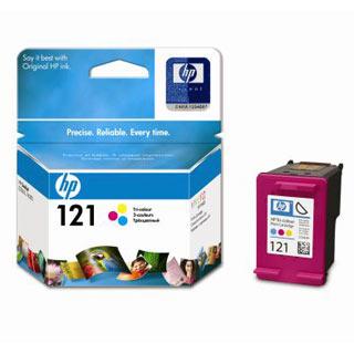 Цветной картридж HP-121