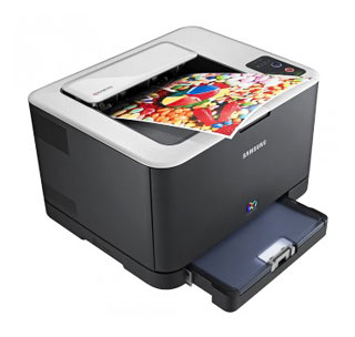 Цветной лазерный принтер Samsung CLP-325/XEV