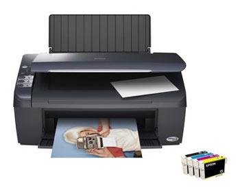 Цветной струйный мфу (принтер/сканер/копир) Epson Stylus CX4300