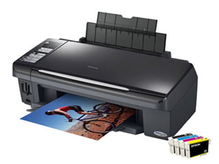 Цветной струйный мфу (принтер/сканер/копир) Epson Stylus CX7300