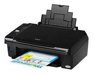 Цветной струйный мфу (принтер/сканер/копир) Epson Stylus TX410