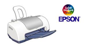 Цветной струйный принтер Epson Stylus C40UX