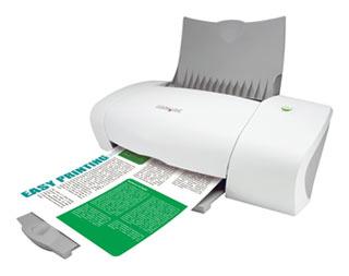 Цветной струйный принтер Lexmark Z640