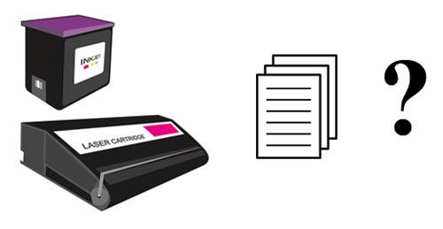 Какой ресурс у картриджей для принтеров (струйный и лазерный)?