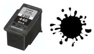 Картридж Canon PG-440 течет после заправки