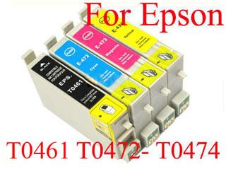 Картриджи T0461, T0472, T0473, T0474 для принтеров Epson