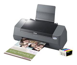 Цветной струйный принтер Epson Stylus C91